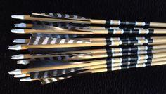 Port Orford Cedar and Sitka Spruce In a hurry? Arrows, ready to go. Bow Hunting #huntingarrows