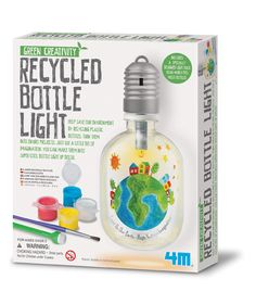 Green Science Recycled Bottle Light