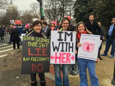 Thousands from across the country descended on Washington, D.C. on Saturday for the Women's March on Washington, an event whose attendance could now ea ...