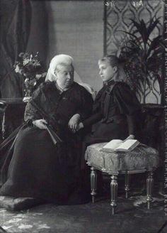 Rainha Victoria & Victoria de Battenberg