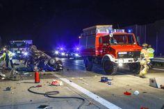 Schwerer #Crash mit 3 #Verletzen heute Nacht auf der #A72