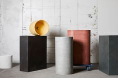 The first of its kind in Australia, this exclusive capsule collection features five different styles of handcrafted column basins, designed to be works of art in any home or commercial space, in two different textures.