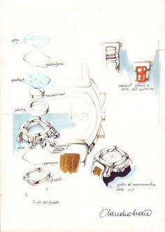 Claudio Siano_Watch_Jewelry_Design_Sketching