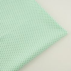 Simple Dots Style Comfortable 100% Light Green Cotton Fabric for Art Work Craft Quilting Children Dress Bedding Tilda Doll Cloth