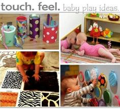 Actividades fáciles para elaborar en casa con tu bebé!