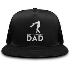 I Love Worlds Greatest Dad Cap T-Shirts