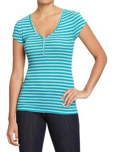 Women's Perfect Henley from Old Navy.