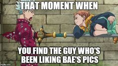 I hope. Sry Ban, I'm totally in love whith your body! no buts, I can't find someone outside Anime to love! Got Anime, Manga Anime, I Love Anime, Seven Deadly Sins Anime, 7 Deadly Sins, Sir Meliodas, Meliodas And Elizabeth, 7 Sins, Seven Deady Sins