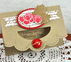 This card is amazing! By Dawn McVey, Papertrey Ink.