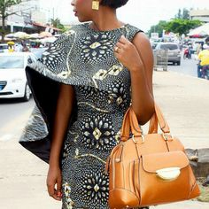 It is Fashion Double Delight! Get Gorgeous with Eye-Catching Ankara & Aso-Ebi Styles - Wedding Digest Naija Mehr African Dresses For Women, African Print Dresses, African Fashion Dresses, African Attire, African Wear, African Women, African Prints, African Style, African Inspired Fashion