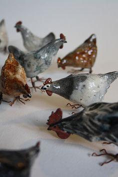 hens 3 by Joe lawrence art work, via Flickr