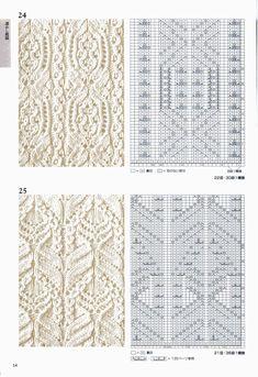 260 Knitting Pattern Book by Hitomi Shida 2016 — Yandex. Lace Knitting Patterns, Knitting Stiches, Cable Knitting, Knitting Books, Knitting Charts, Lace Patterns, Knitting Designs, Knitting Projects, Stitch Patterns