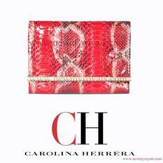 Carolina Herrera Animal Print Clutch Bag