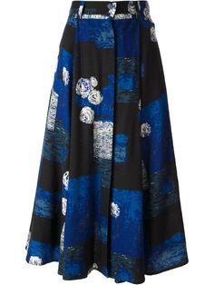 Kenzo Vintage A-line Midi Skirt - House Of Liza - Farfetch.com