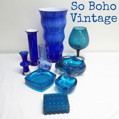 """Today at #sobohovintage we're #photographing #midcenturyglassware for the NEW WEBSITE !! #midcenturydesign #midcenturyhome #interiordesign #design #midcenturyglass #artglass #casedglass #czech #italian #scandinavian #vintagehomewares #vintageglassware #derby #findusatvintagefairs #findusonline www.sobohovintage.co.uk #borrowashvintage #derbyvintage #vintagederby #buyvintage #shopvintage #vintageshop"" Photo taken by @vintagely"