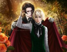 Black Butler Claude Faustus and Alois Transy