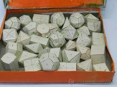 La pesadilla de la geometría... Y cuando te mandaban recortarlos y pegarlos... ufff...