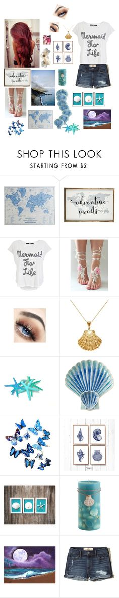 """""""Untitled #221"""" by magic-sunsat ❤ liked on Polyvore featuring Pier 1 Imports, Iron Fist, Ottoman Hands, Juliska and Hollister Co."""