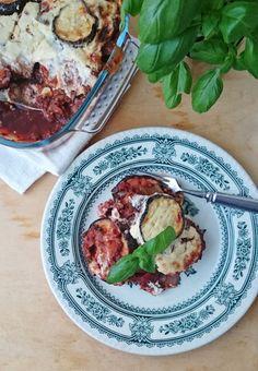 Ruokakonttuuri: Munakoisovuoka / Vegan eggplant casserole
