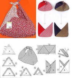 Resultado de imagen para furoshiki bags