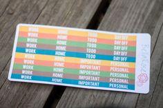 #Fall #ErinCondren header stickers. Follow us on Instagram for coupons @bellarosepaperco #planneraddict #plannergirl #stickers #planner #stationeryaddict