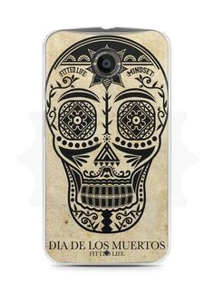 Capa Capinha Moto X2 Dia dos Mortos #2