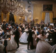"""Costumes from the Movie """"Il Gattopardo"""", directed by Luchino Visconti (1963)"""