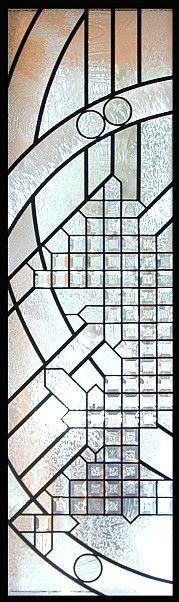 beveled entry windows