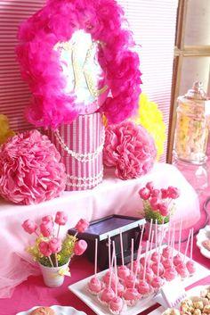 Pink Princess Party #princess #party
