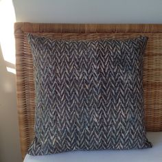 Batik cushion 20 sq by rosiestar on Etsy, $48.00