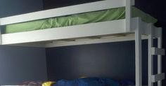 My Home Done My Way: Triple Bunk Bed Finished