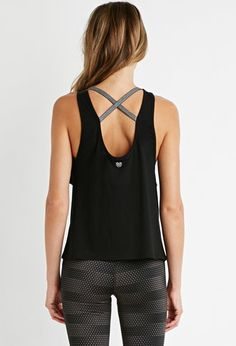 Active Crisscross-Back Athletic Tank | Forever 21 - 2000180678