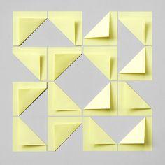 Present & Correct – Post-It tiling
