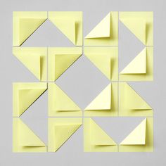 Post-It tiling.