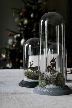 No more blue Christmas Woodland Christmas, Nordic Christmas, Magical Christmas, Christmas Mood, Blue Christmas, Amazon Christmas, The Bell Jar, Bell Jars, Navidad Diy