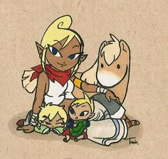 Tetra and children