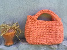 Salmon Sling bag by JustForYouhm on Etsy