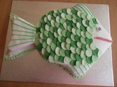 Do you know anyone who loves fish or fishing? Then why not make them this fish shaped celebration cake. Easy to follow instructions with accompanying photos.