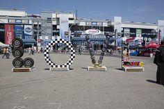 Richmond International Raceway welcoming race fans with LOVE.