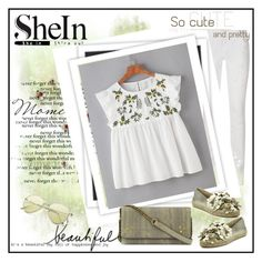 """Shein"" by sanela1209 ❤ liked on Polyvore featuring Givenchy, GALA, Tory Burch and Jérôme Dreyfuss"