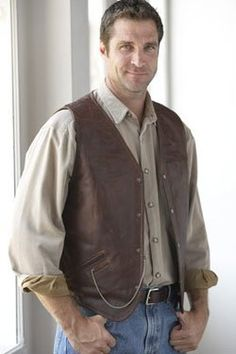 VESTS MAKE THE MAN - Leather vests are an ideal fashion in traditional or  western design 9382ebb6ae