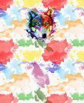 Art Gone Wild Wolf