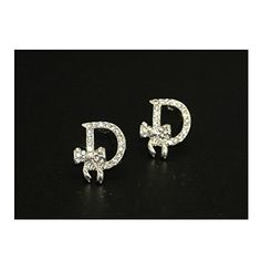 * Penny Deals * - D words stud earrings Letters fashion ladies earrings zircon earrings * Check out this great product.