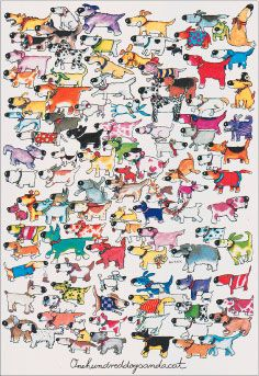100 cats and a mouse puzzle whitlark puzzles