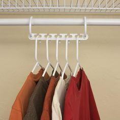 """DON'T MISS THIS: Extra 20% OFF Get an extra 20% OFF when buying two or more Aska Hangersby entering discount code""""2HANGERS"""" at checkout.   The easy on and off design allows each hanger to rest on a closet rod horizontally or drop down vertically to maximize storage and free up space. Ideal for apartments, dorms and older houses with limited closet space, can also organize clothes, belts, purses and accessories too.Helps keep clothes clean and wrinkle-free. DESCRIPTION  Mat..."""
