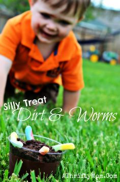 Dirt and worm desser