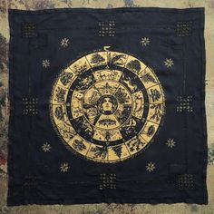 One-of-a-kind wall hangings by Adrienne Rozzi // Poison Apple Printshop