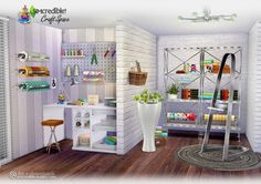 Craft space 14 new meshes at SIMcredible! Designs 4 • Sims 4 Updates