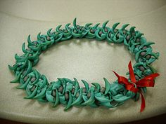 Jade vine lei 358/365, via Flickr.