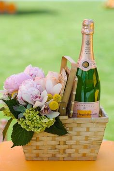 Please take a basket and Thank You For Coming To My Garden Party. Caroline xo